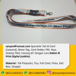 Lima Cara Order Tali Lanyard Online Di Gambir